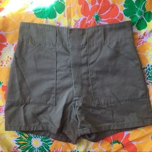 VINTAGE 60s/70s Boy Scouts of America Shorts Green